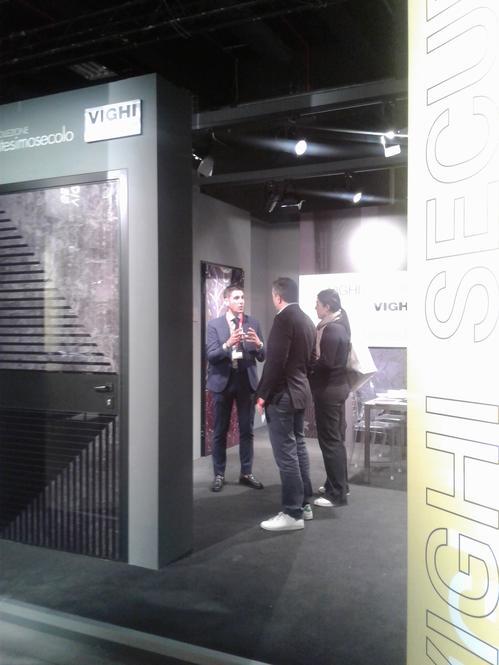 Grande successo dei pannelli di rivestimento collezione VENTESIMOSECOLO a Space &Interiors
