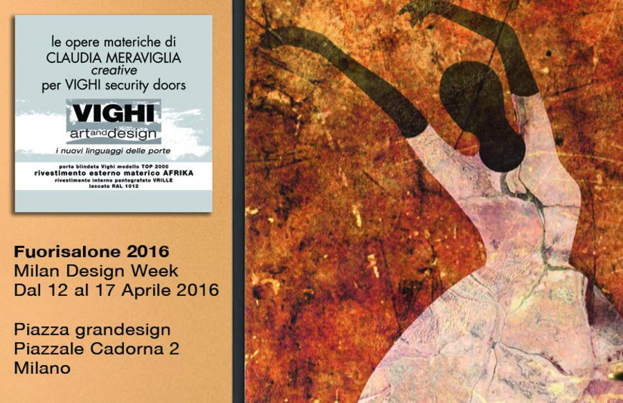 VIGHI Security Doors al Fuorisalone - Milano Design week dal 12 al 17 aprile 2016